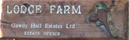 Lodge Farm Sign